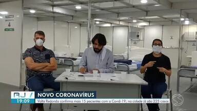 Volta Redonda registra 15 novos casos de coronavírus - Número de infectados chega a 225 na cidade. Novos pacientes são 11 mulheres, três homens e um idoso. Cidade ainda investiga quatro mortes.