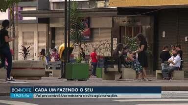 Prefeito explica quando o comércio poderá ser fechado de novo em Londrina - Prefeito explicou o achatamento da curva dos casos de coronavírus na cidade