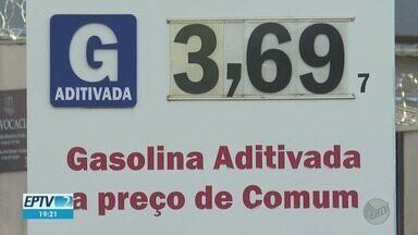 Preço da gasolina em Ribeirão Preto, SP, cai pouco em relação ao mercado internacional - Valor do litro sofreu redução, mas percentual ainda é considerado baixo por especialistas.