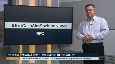 Secretário Beto Preto responde a perguntas sobre o coronavírus no PR - Repórteres de várias cidades do estado fizeram questionamentos. Secretário devende o isolamento social.