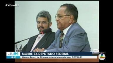 Ex-deputado e ex-vice governador do Pará, Gerson Peres morre em Belém - Ex-deputado e ex-vice governador do Pará, Gerson Peres morre em Belém