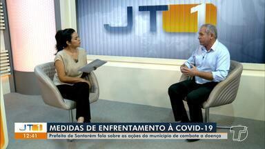 Prefeito de Santarém, Nélio Aguiar, fala sobre ações de enfrentamento ao coronavírus - Saiba como o município tem se preparado para proteger a população da doença.