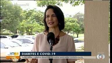 Médica fala sobre os cuidados que pacientes com diabetes devem tomar em relação a Covid-19 - Médica fala sobre os cuidados que pacientes com diabetes devem tomar em relação a Covid-19
