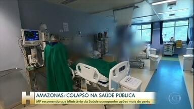 MP-AM envia recomendação para que Ministério da Saúde apure medidas do AM contra Covid-19 - No documento eles citam vários problemas no atendimento a pacientes e também nas condições de trabalho dos profissionais de saúde.