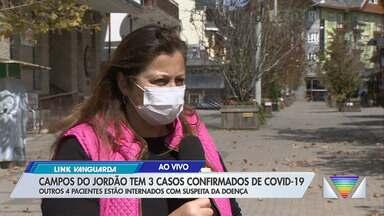 Campos do Jordão torna obrigatório uso de máscaras - Medida é por prevenção ao coronavírus.