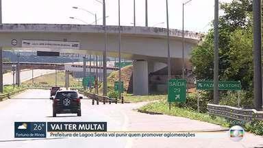 Prefeitura de Lagoa Santa vai punir quem promover aglomerações - Decreto já está em vigor