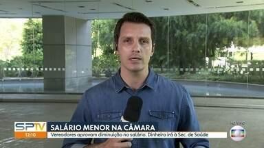 Vereadores de São Paulo aprovam redução de salários e despesas gerais - Corte foi de 30%. Assembléia Legistaliva do Estado também estuda redução nos salários.