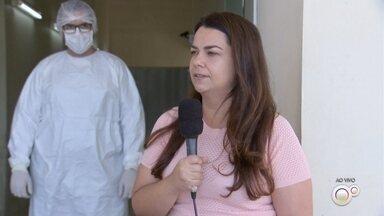 Marília começa a aplicar testes rápidos de Covid-19 nas unidades de saúde - A prefeitura de Marília (SP) começou a aplicar testes rápidos para diagnosticar pacientes com Covid-19 nas unidades de saúde do município.