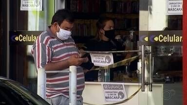 Confira o movimento no comércio Votuporanga e Fernandópolis neste sábado (25) - Confira o movimento no comércio em cidades da região neste sábado (25) com a flexibilização na quarentena.