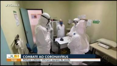 Médicos cubanos reforçam equipes de saúde no combate a Covid-19 - Médicos cubanos reforçam equipes de saúde no combate a Covid-19