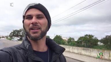 #InTodoCantoTemCearense: Léo Lúcio mostra rotina na cidade Porto Alto, em Portugal - Cearense fala sobre como tem sido os dias de quarentena e os cuidados necessários