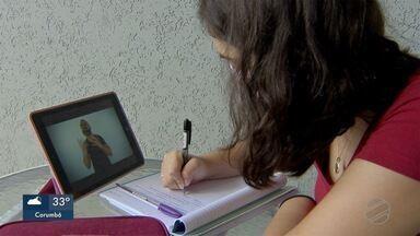 Estudantes buscam alternativas para manter preparação para o Enem - Estudantes buscam alternativas para manter preparação para o Enem
