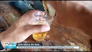 Com isolamento, venda e consumo de bebidas alcoólicas aumenta no DF - O aumento do consumo de álcool não é necessariamente um problema, mas deve ser observado com muita atenção.