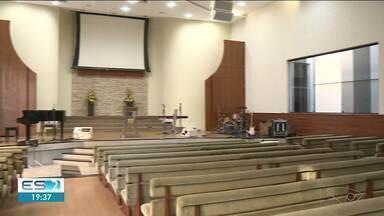 Igrejas se preparam para reabrir em Linhares, no ES - Outras permanecem com os cultos online.