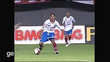 Reveja a partida Bahia x Portuguesa, pela série B de 2010 - Confira.