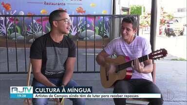 Fechamento de bares e restaurantes em Campos gera crise financeira para artistas da cidade - Profissionais vêm contanto com ajuda de vaquinhas para sobreviver.
