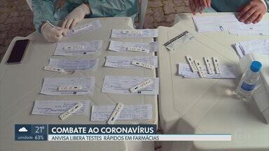 Anvisa libera testes rápidos em farmácias do DF e de todo o país - Segundo a secretaria de Saúde, o número de casos confirmados de coronavírus subiu para 1.384.