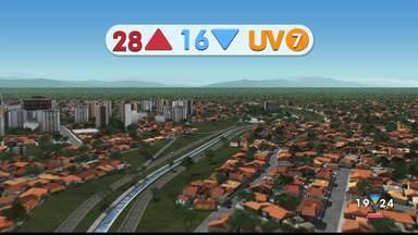 Confira a previsão do tempo para esta quarta-feira, 29, na região - Confira reportagem do Jornal Vanguarda desta terça-feira (28).
