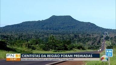 Cientistas que atuam no Oeste Paulista recebem prêmio por cuidados com o meio ambiente - Pesquisadoras enviaram vídeo contando como foi ter o reconhecimento.
