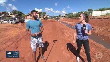 MG Móvel continua acompanhando obra em córrego de Igarapé - Moradores estão otimistas com andamento das intervenções.