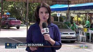 Mais de 25 mil pessoas passaram pela testagem rápida para a Covid-19 - 163 pessoas testaram positivo. Em Sobradinho, a Secretaria de Saúde mudou o local de testagem para o Parque dos Jequitibás.