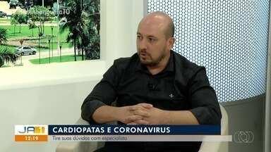 Cardiologista explica qual o risco da Covid-19 para quem tem problemas no coração - Cardiologista explica qual o risco da Covid-19 para quem tem problemas no coração