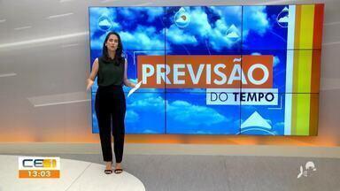 Veja a previsão do tempo para hoje no Ceará - Saiba mais no g1.com.br/ce