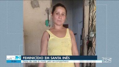 Mulher é assassinada a golpes de facão em Santa Inês - Este é 21º caso de feminicídio somente em 2020 no Maranhão.