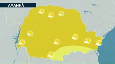 Tempo continua seco e com temperaturas elevadas na região oeste do Paraná - Massa de ar seco deve perder força nos próximos dias, por isso vem mudança no tempo. Em Cascavel tem previsão de chuva a partir de sábado (02).
