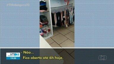 Comerciantes são flagrados desrespeitando regras do isolamento em Palmas - Comerciantes são flagrados desrespeitando regras do isolamento em Palmas