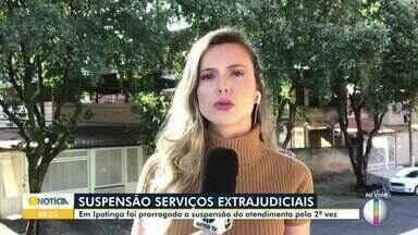 Serviços presenciais seguem suspensos nos cartórios; apenas urgências são atendidas - Em meio à pandemia de coronavírus, o atendimento presencial nos cartórios de Minas Gerais seguirá em regime de plantão para causas urgentes pelo menos até o dia 15 de maio.