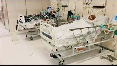 Covid-19 saturou o sistema de saúde das capitais brasileiras e avança para o interior - Na segunda-feira (4), a Fiocruz vai divulgar uma pesquisa que aponta: 70% das unidades de saúde do interior do país já enfrentam o problema.