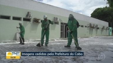 Cabo de Santo Agostinho monta dois hospitais de campanha - Expectativa é de que unidades comecem a funcionar até a sexta-feira (8).