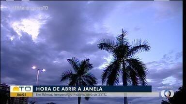 Confira como fica o tempo em Palmas nesta segunda-feira (4) - Confira como fica o tempo em Palmas nesta segunda-feira (4)