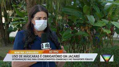 Uso de máscaras passa a ser obrigatório em Jacareí - Medida vale para comércios e transporte público