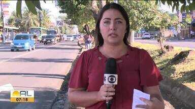 Algumas linhas de ônibus deixam de circular em Maceió - Segundo a SMTT o motivo é a baixa demanda de passageiros.