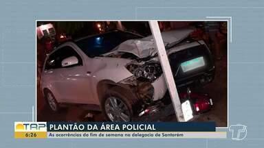 Confira as ocorrências do plantão policial desta segunda-feira em Santarém - Casos foram registrados na 16ª Seccional de Polícia Civil.