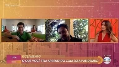 Daniel e Sérgio Guizé contam como estão enfrentando a pandemia - Artistas estão passando a quarentena no interior e dizem que momento é de se reconectar com as origens para lidar com as dificuldades