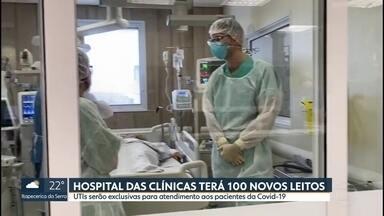 Mais de 9 mil pacientes estão internados no estado com o novo coronavírus - Ocupação dos leitos de UTI é de 87,1% na Grande São Paulo.
