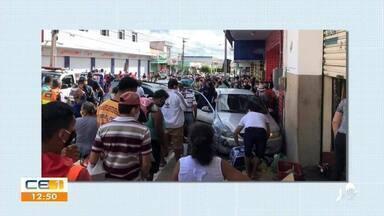 Motorista atropela guardas municipais em Crateús - Saiba mais em g1.com.br/ce