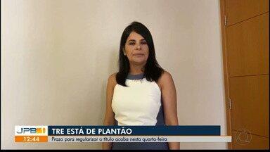 Prazo para regularizar título de eleitor termina nesta quarta-feira (6), na Paraíba - TRE está de plantão para ajudar eleitores com a regularização de seus títulos.