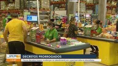 GEA e PMM prorrogam decretos com mudanças em atendimentos de supermercados e atacadistas - GEA e PMM prorrogam decretos com mudanças em atendimentos de supermercados e atacadistas