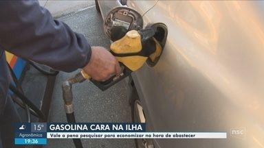 Preço da gasolina tem variação no preço entre a Ilha e o continente - Preço da gasolina tem variação no preço entre a Ilha e o continente