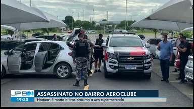 Homem é morto a tiros ao lado de hipermercado, em Cabedelo, PB - Segundo Polícia Civil, homem foi morto enquanto comprava arma, próximo a hipermercado.