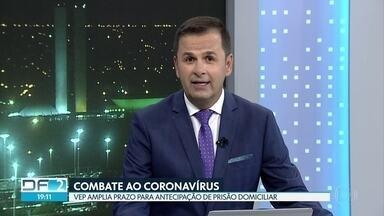 DF2 - Edição de segunda-feira, 04/05/2020 - DF tem quase 1800 casos de coronavírus. Secretário de saúde garante que não falta UTI no Hran. Abertura de novos leitos atrasa. Sargento da reserva tem alta do hospital ao vencer a Covid-19. E mais as notícias do dia.