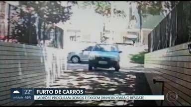 Ladrões procuram donos de carros furtados e exigem dinheiro para resgate - Em um dos casos, os bandidos pediram R$ 1.500 do dono para devolver carro furtado na 316 norte.