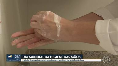 5 de maio é Dia Mundial da Higiene das Mãos - Hábito é uma das mais importantes medidas de saúde pública