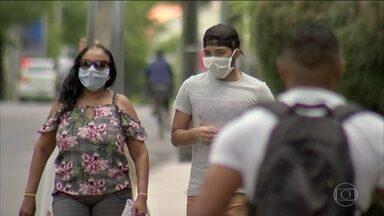 Ceará prorroga isolamento até 20 de maio e torna obrigatório o uso de máscaras - As medidas vão ser mais rigorosas ainda para Fortaleza a partir de sexta-feira (8). É o que o governo chama de 'isolamento social rígido'.