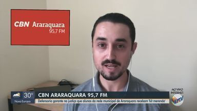 Justiça de Araraquara determina que alunos em situação de vulnerabilidade recebam merenda - O apresentador da CBN Milton Filho traz mais informações