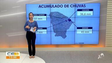 Veja a previsão do tempo para hoje no Ceará - Saiba mais em g1.com.br/ce